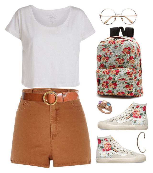 """Untitled #394"" by zayngirl27 ❤ liked on Polyvore featuring Pieces, Vans, River Island, Frame Denim and Isabel Marant"
