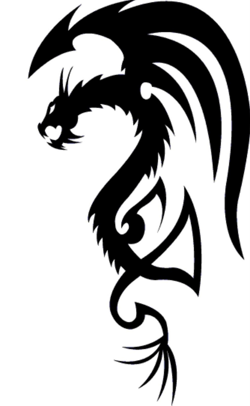 Tattoo S For Simple Dragon Tattoos Designs Dragon Tattoo Designs Dragon Tattoo Images Tribal Dragon Tattoo