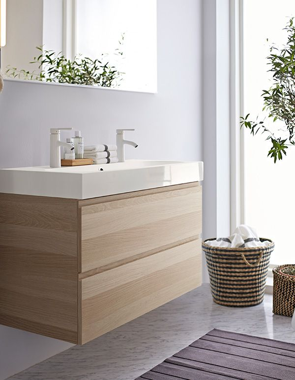 When You Have A Small Bathroom But Lots Of Stuff You Ll Want To Make Sure You Have Great Storage Ikea Bathroom Small Bathroom Bathroom Design