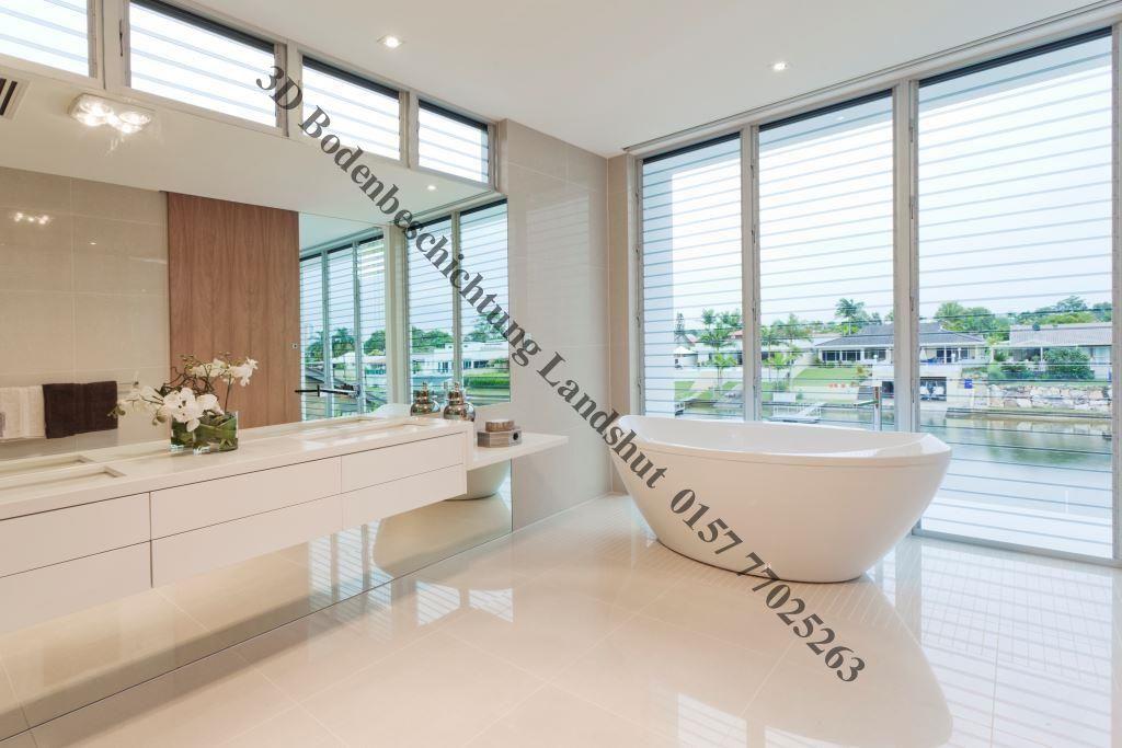 Bodenbeschichtung Luxus Bad Badezimmereinrichtung Badezimmer Innenausstattung Luxusbadezimmer