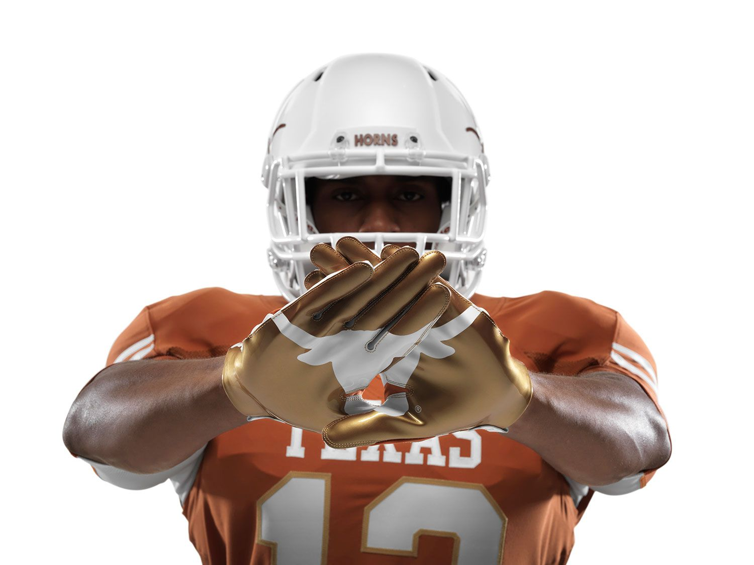 Texas Football will wear special uniforms designed by Nike for the 2013  AT&T Red River Rivalry