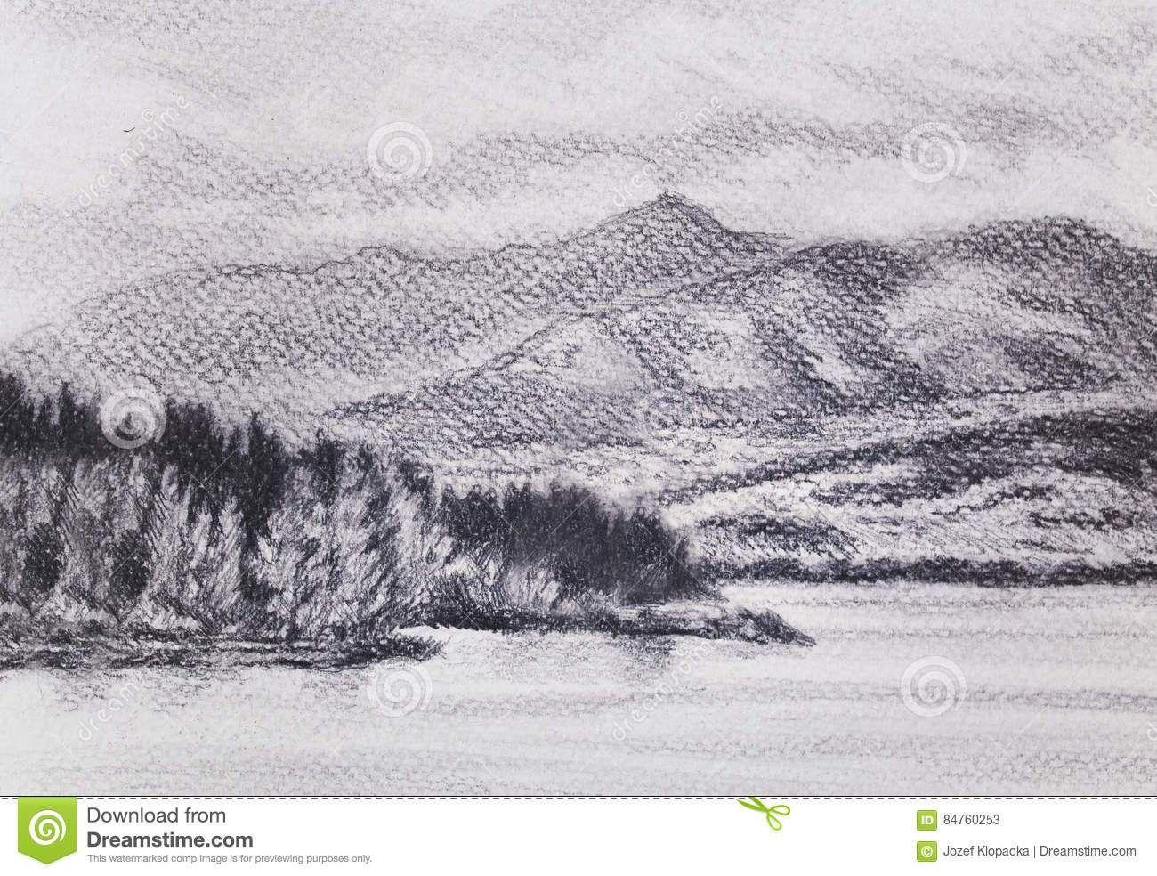 disegni a matita di paesaggi marini disegni a matita