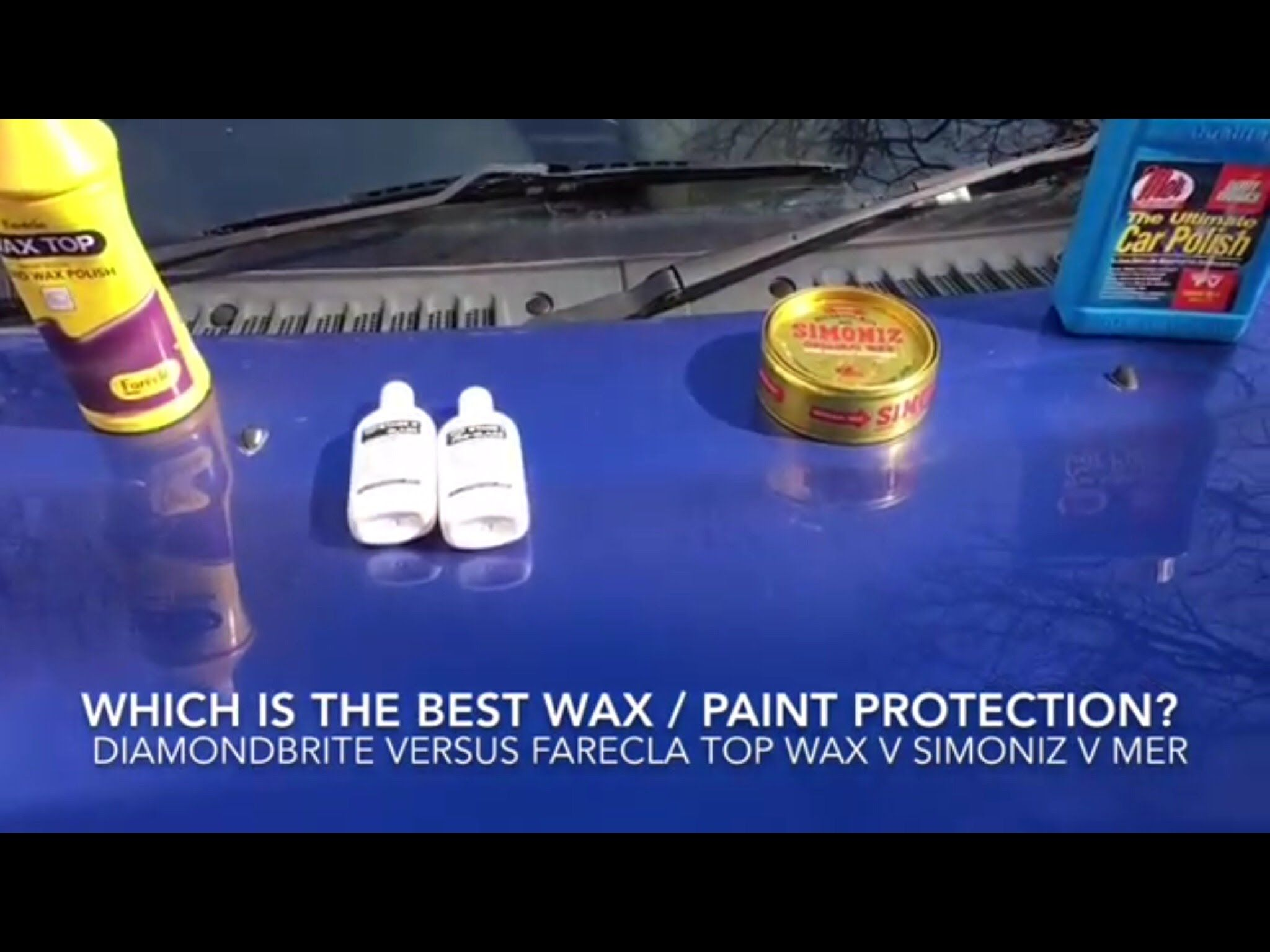 Which Paint Protection Wax Diamondbrite V Mer V Farecla Topwax V Simoniz Wax Paint Protection Wax Painting Painting