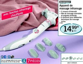 Promotions Appareil de massage infrarouge - SilverCrest ...