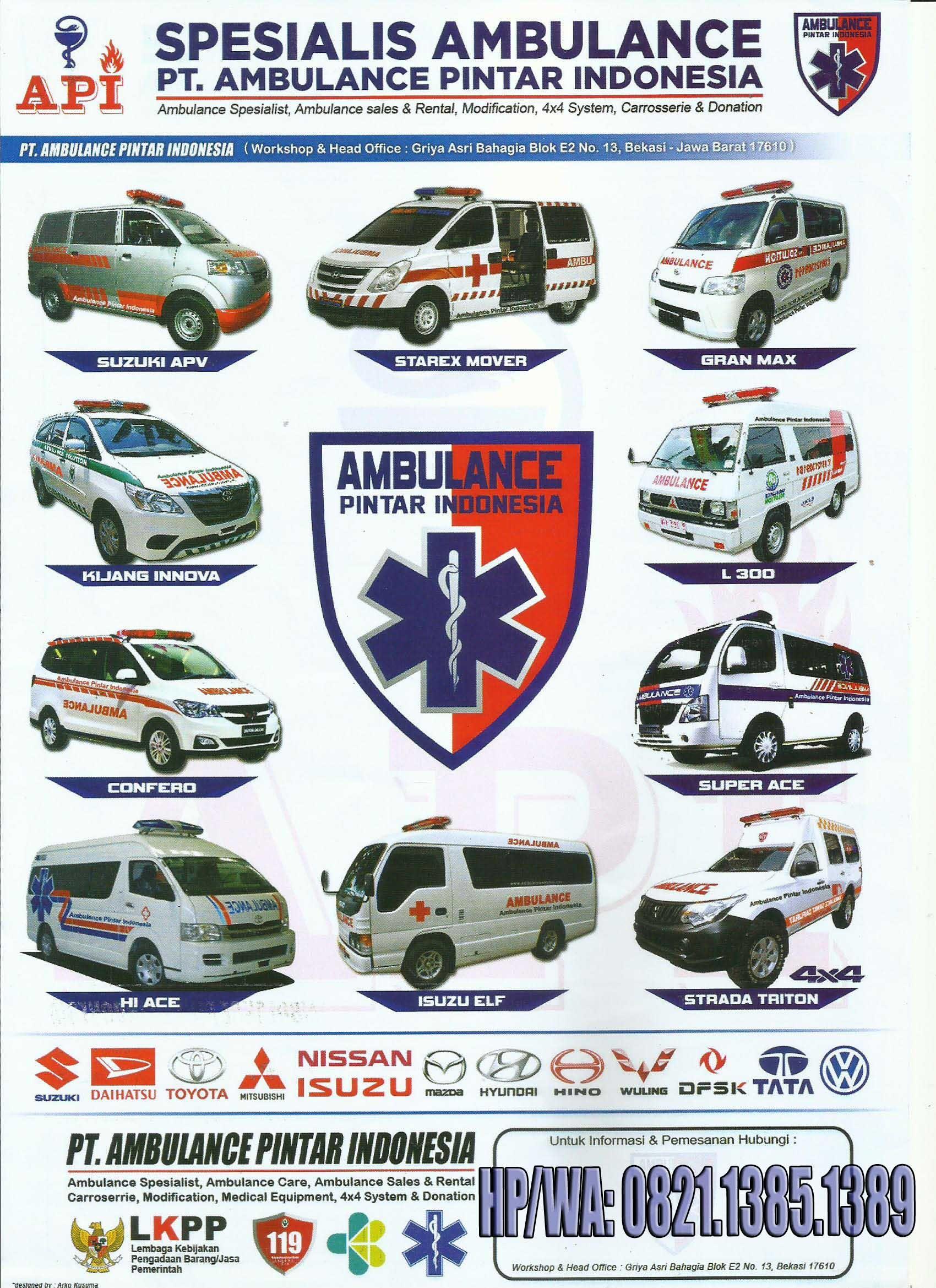 Untuk Kebutuhan Tindak Medis Cepat Kami Pt Ambulance Pintar Indonesia Siap Membantu Pembuatan Mobil Ambulance Kami Berpeng Indonesia Isuzu D Max Ambulance