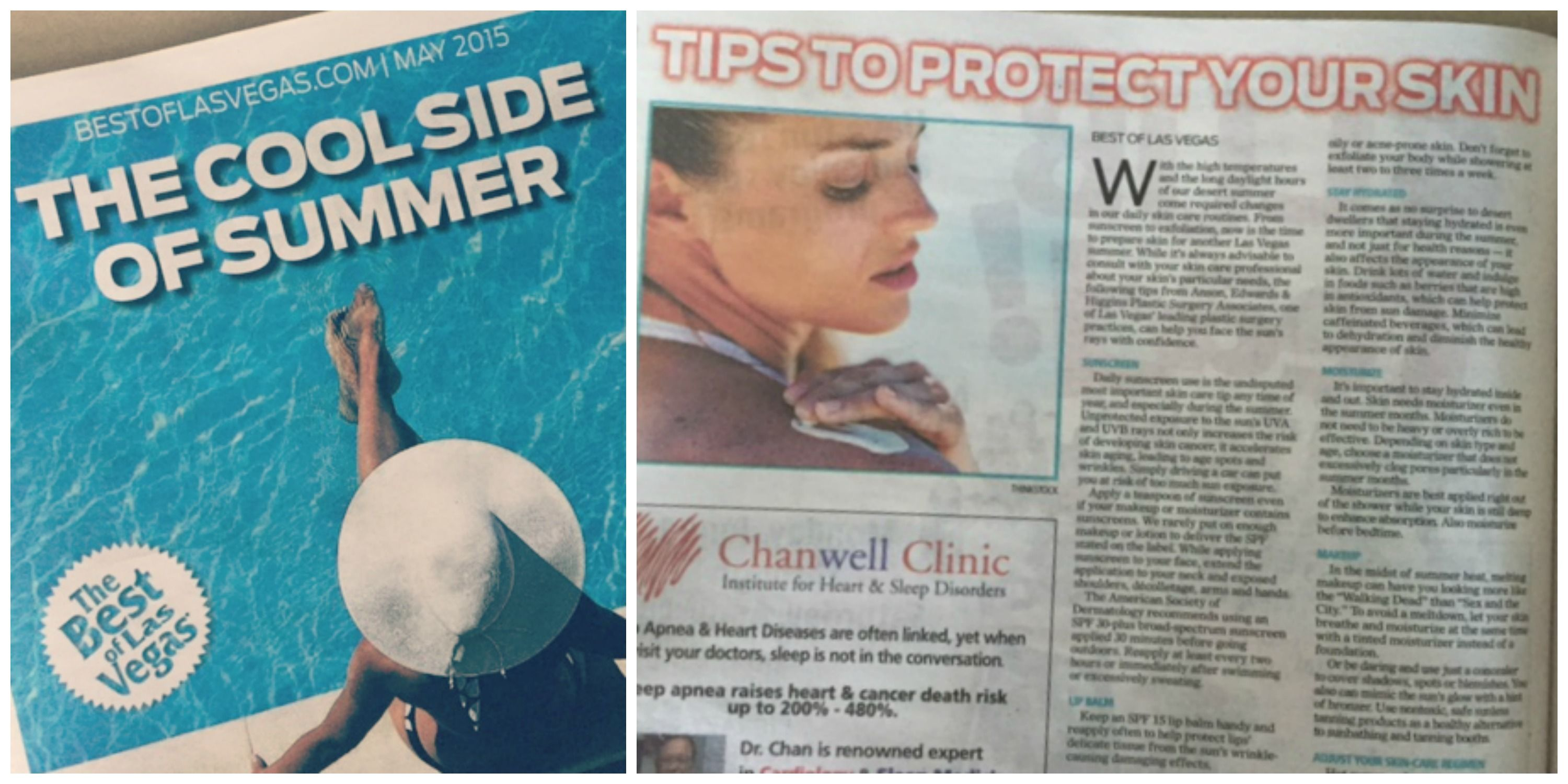Is Your Skin Ready For Summer Our Friends At Anson Edwards Higgins Plastic Surgery Associ Health And Beauty Tips Heart Cancer Las Vegas Review Journal