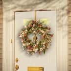 Photo of National Tree Company 22 in. Sunflower Wreath RAS-CDF62102-1 – The Home Depot