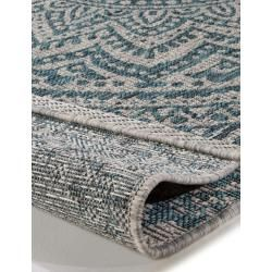 Photo of benuta In- & Outdoor-Teppich Cleo Beige/Blau 300×400 cm – für Balkon, Terrasse …
