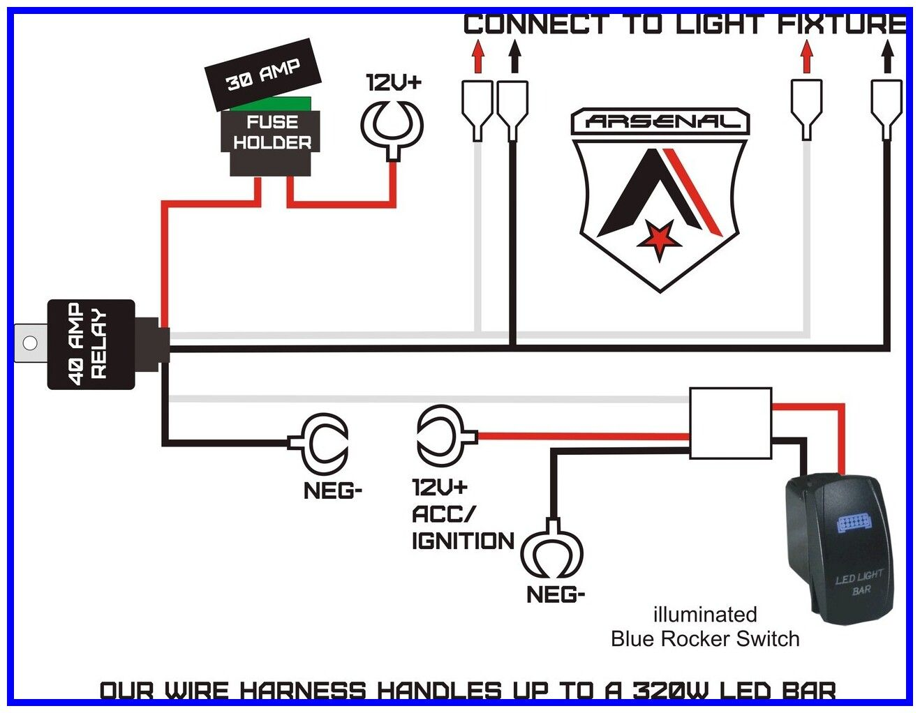65 Reference Of Led Light Bar Wiring Instructions Bar Lighting Led Light Bars Led Lights