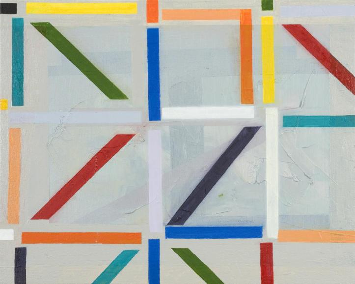 tndra:Matt Mycoff Untitled (Jigger), 2010 Oil on canvas