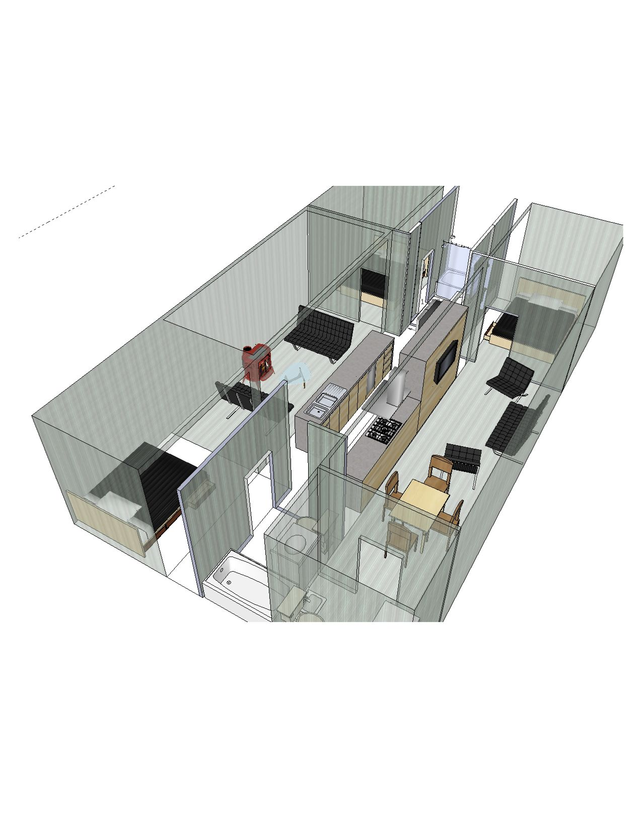 3 Containers 40ft X 8ft X 10 Ft High Container House Container House Design Sea Container Homes