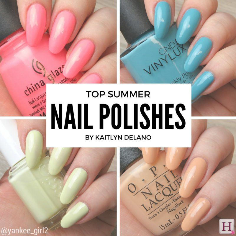 Summer 2016 Nail Polish Colours That Make A Statement | SUMMER STYLE ...