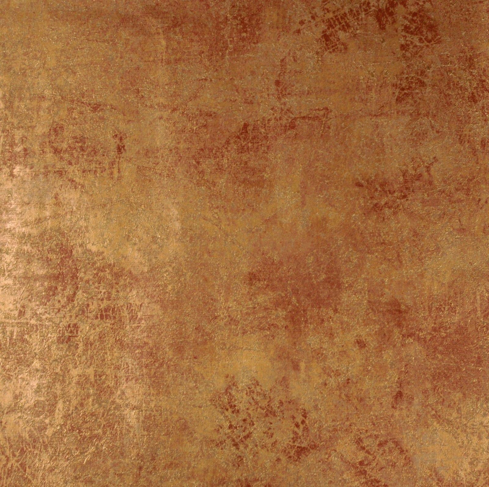 Mediterrane Tapeten la veneziana vliestapete marburg tapete edel patina gold rost 77706