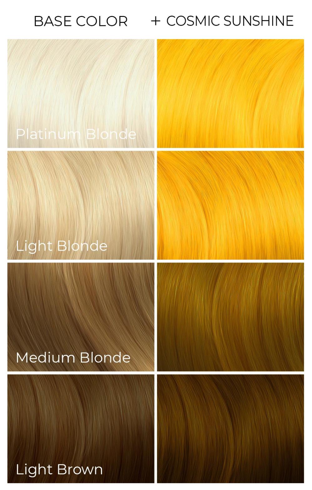 Cosmic Sunshine In 2021 Hair Color Esalon Hair Color Fox Hair Dye
