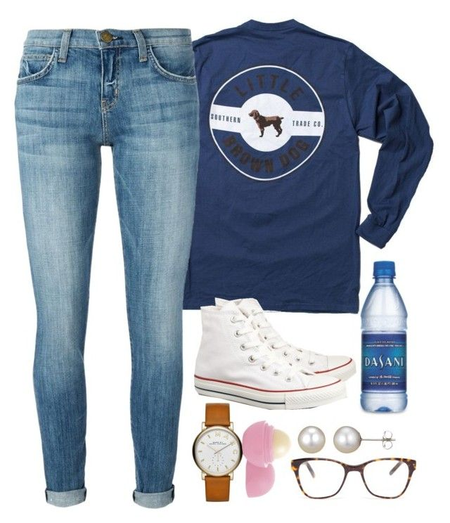 """ugh sorry for like 1 set in 3 days"" by elizabethannee ❤ liked on Polyvore featuring Current/Elliott, Prism, Converse, A B Davis, Marc Jacobs and Eos"