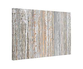 Impression sur toile ASPEN FOREST III bois, multicolore - 152*101