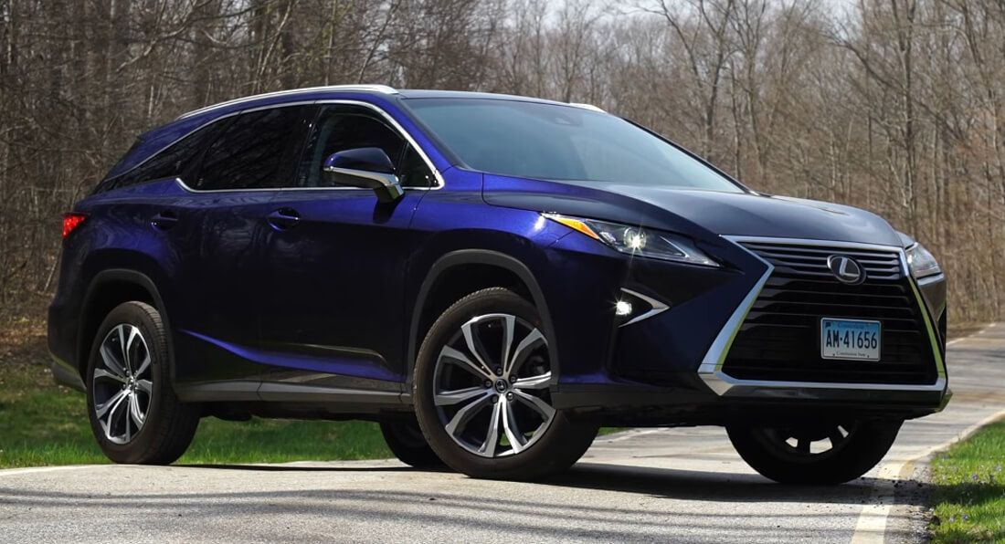 Lexus Rx 350l Driven By Consumer Reports How Good Is The 7 Seater Carscoops Lexus Suv 4x4 Mom Car