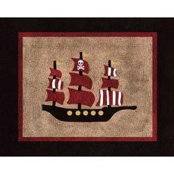 Pirate Treasure Cove Rug