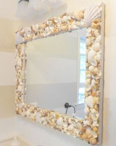 Diy Mirror Frames Ideas To Do At Home Beach Theme Bathroom Beach Bathrooms Beach House Decor