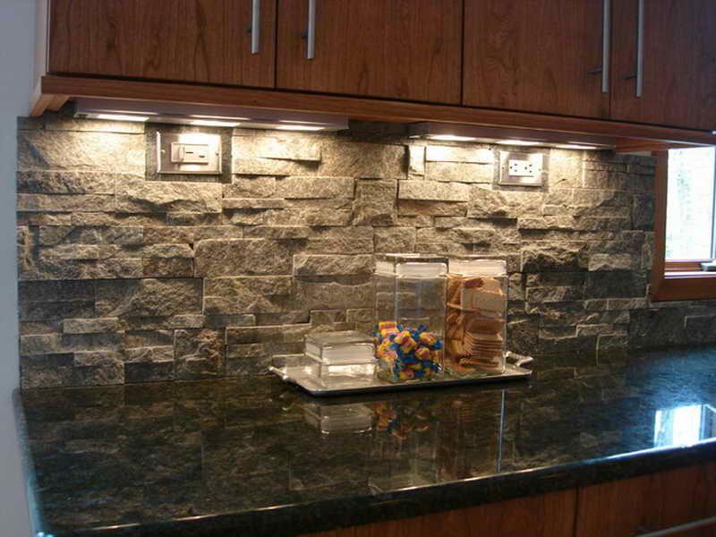 Good Kitchen Stacked Stone Tile | Vizimac