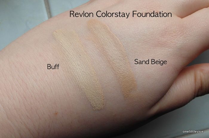 Revlon Colorstay Foundation Colors