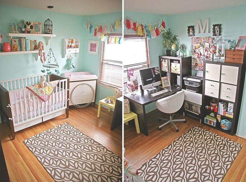 Make It Work 8 Combination Nursery Office Shared Spaces Nursery Office Combo Nursery Office Master Bedroom Nursery