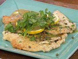 Turkey Scallopine a la Piccata from CookingChannelTV.com