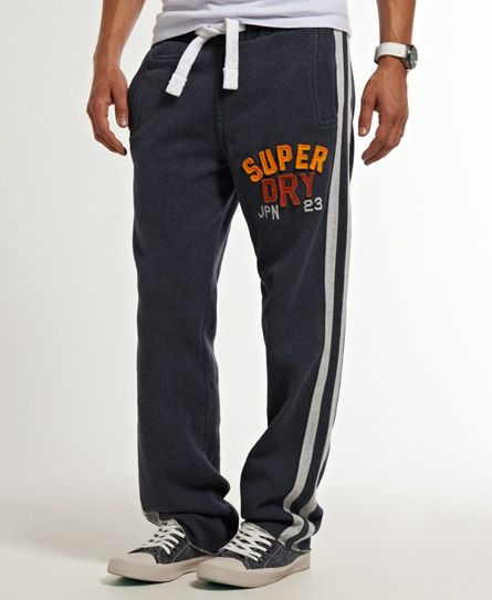 Mens - Applique Fives Joggers in Midnight Marl