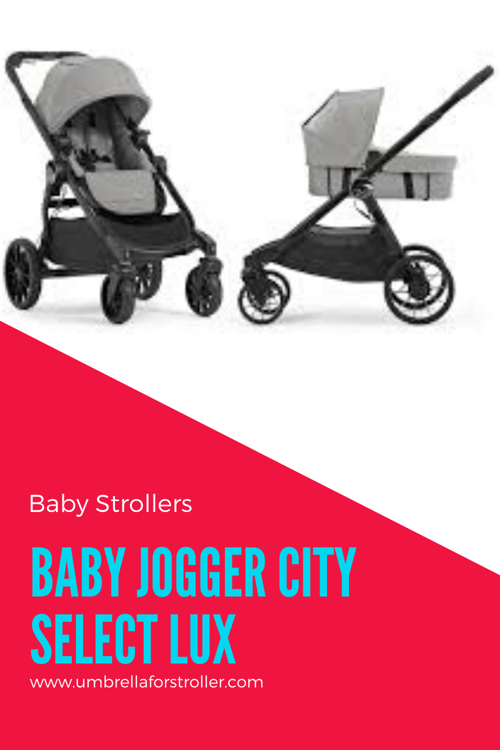 Baby Jogger City Select Lux Stroller in 2020 Baby jogger