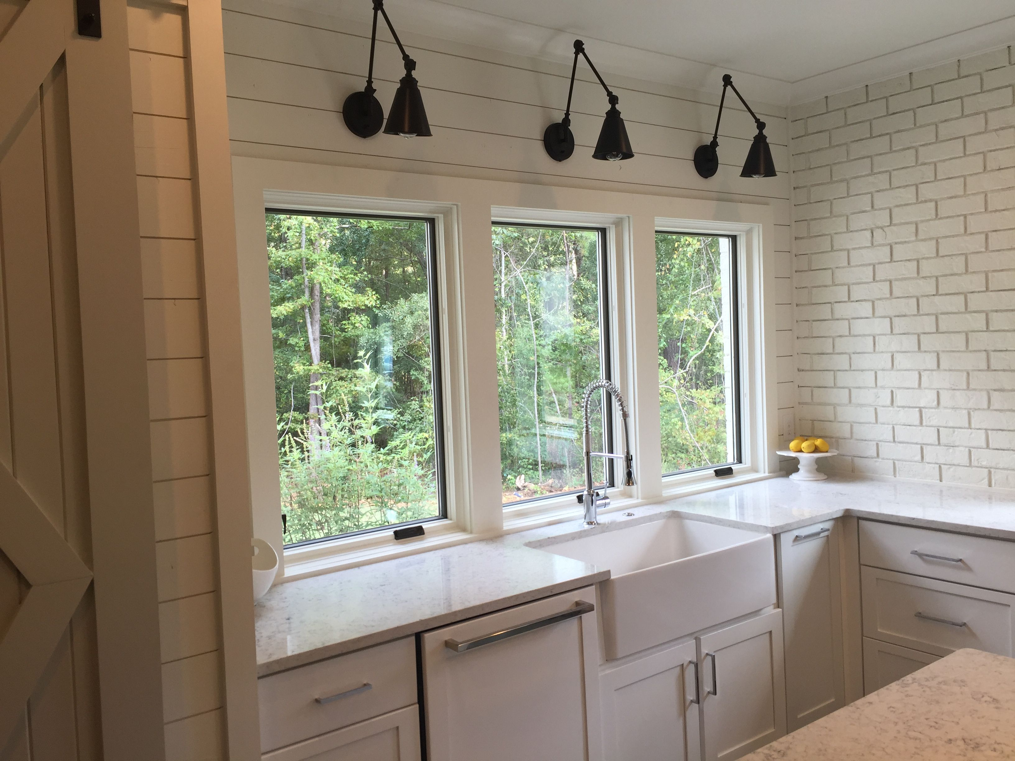 american standard windows double hung shiplap farmhouse sink wood paneled dishwasher kitchen aid savoy house sconces american standard faucet pella windows and benjamin moore white dove aid