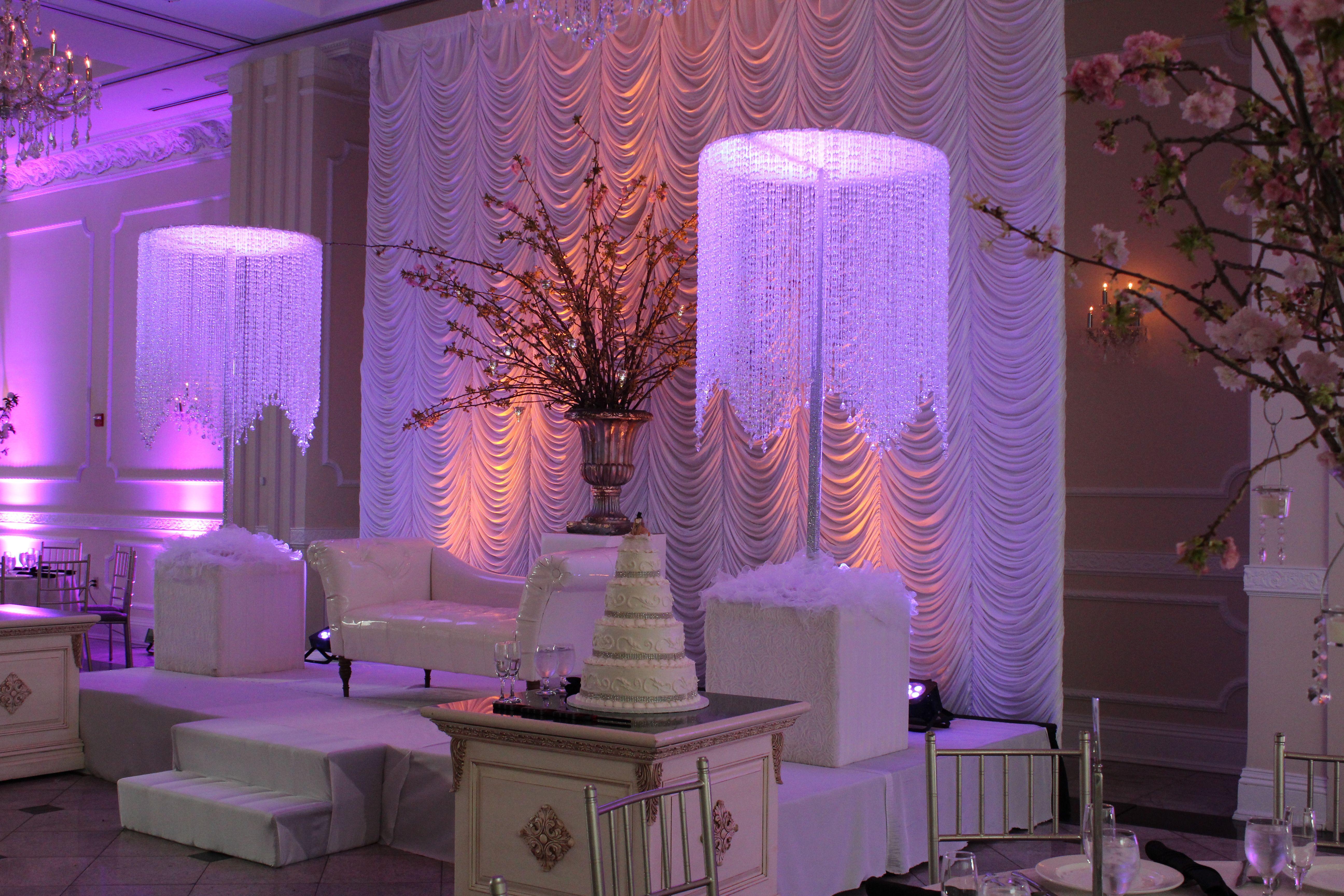 Addison Park NJ  Custom made crystal chandeliers