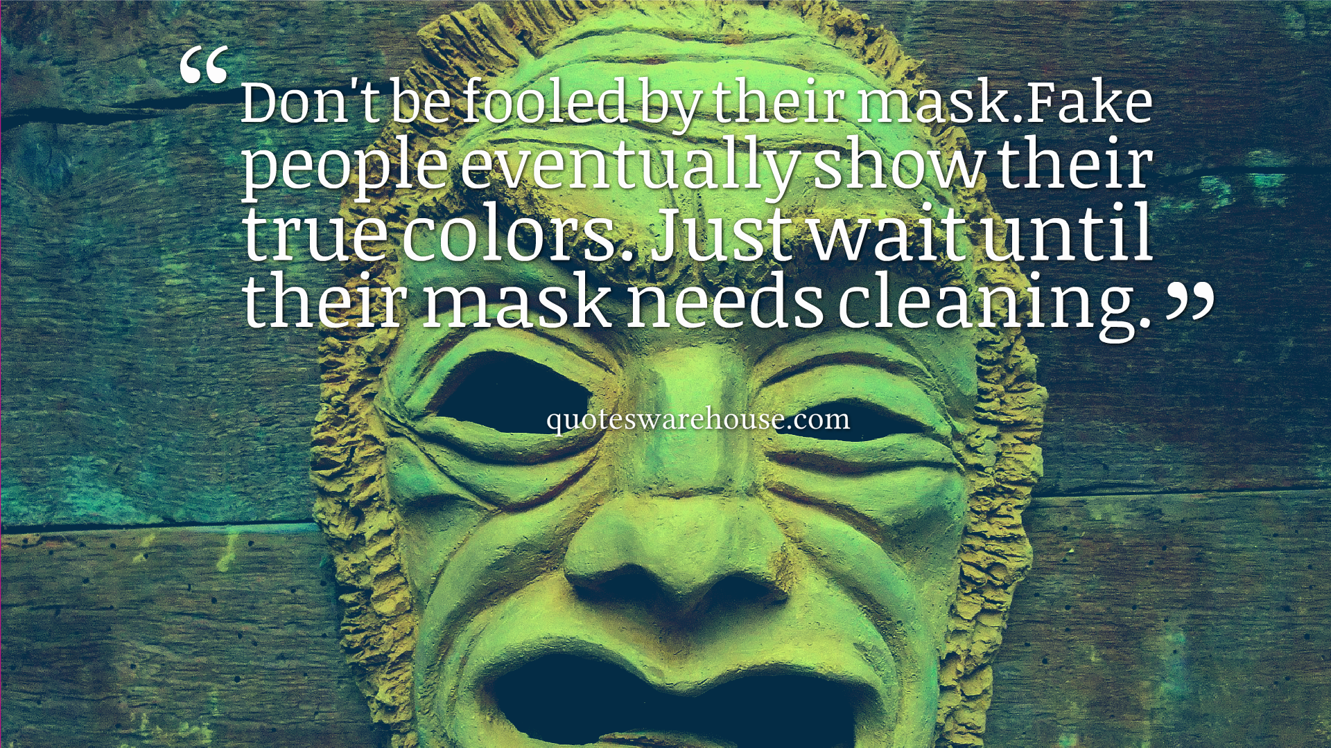 Fooled Mask.fake People Eventually Show