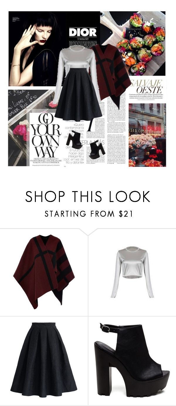 """661/447 ~04/12/2015"" by elliot-jotta-dunnoni ❤ liked on Polyvore featuring Christian Dior, Burberry and Chicwish"