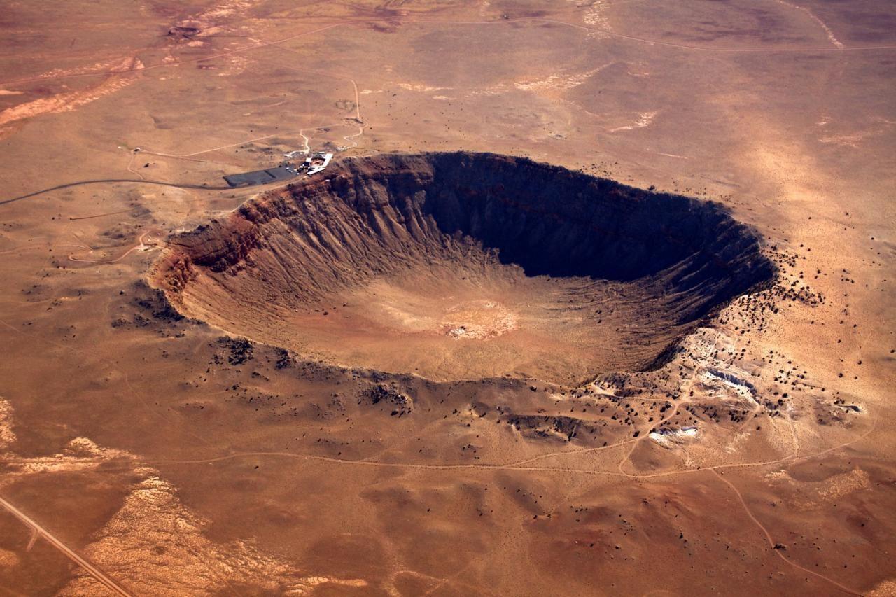 Bildergebnis für meteoritenkrater arizona