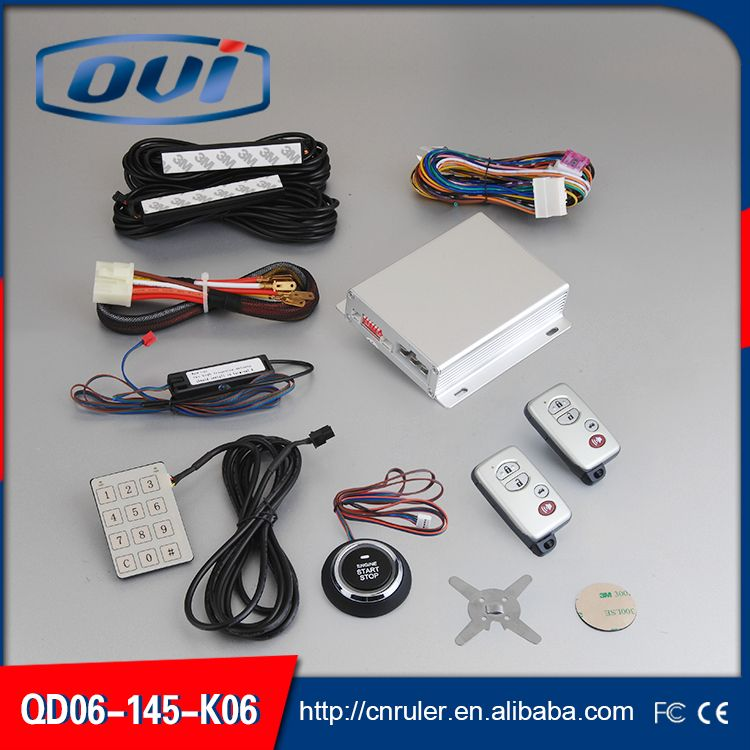 New Car Engine Push Start Button/Engine Lock /Alarm System / Push ...