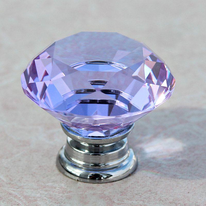 Glass Knobs Crystal Knobs Handles / Dresser Knobs Drawer Knobs Pulls  Handles Diamond /Kitchen Cabinet Knob Pull Handle Furniture Hardware By  MINIHAPPYLV On ...