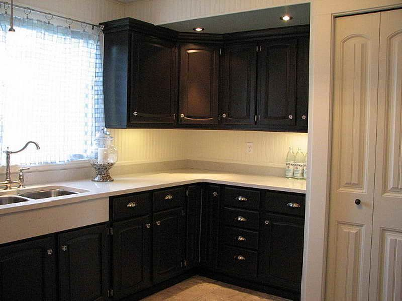 Best Kitchen Colors With Dark Cabinets | Best Paint For Kitchen Cabinets  With Black Color