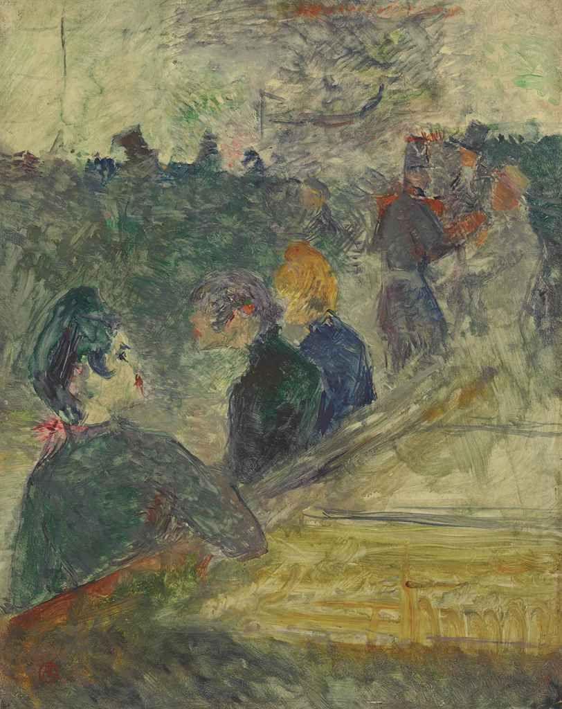 Henri De Toulouse Lautrec 1864 1901 Au Bal Du Moulin De La