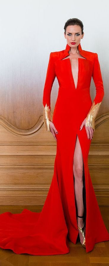 Stéphane Rolland Couture 2014-2015 | * RED PASSION * | Pinterest ...