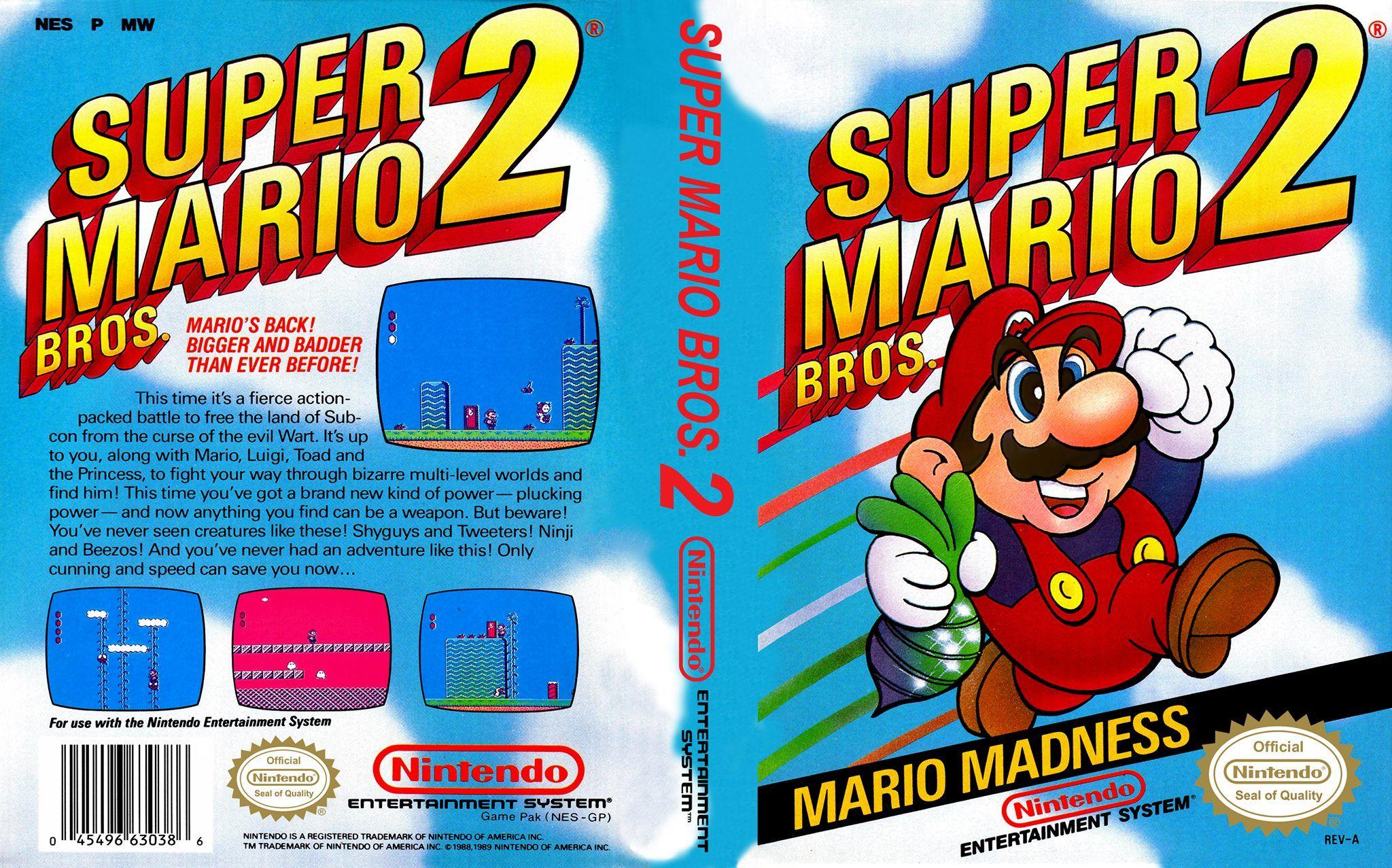 Super Mario Bros 2 Nes Mario Bros Super Mario Bros Nintendo Nes