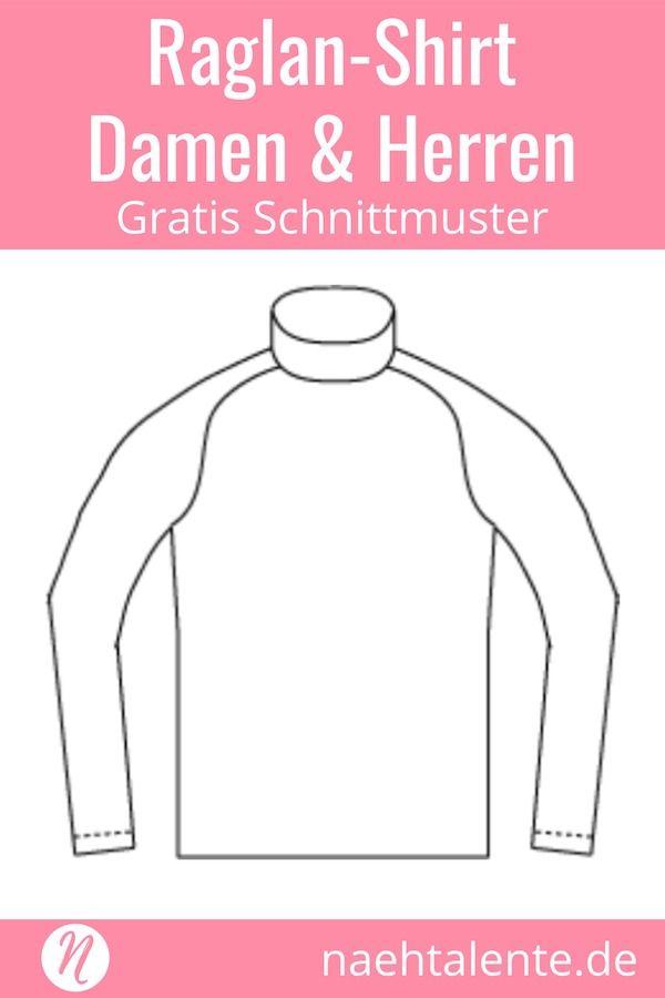 Raglan Shirt - Unisex Schnittmuster | Šití