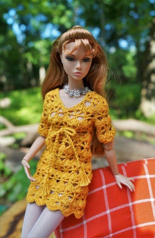 Pin von FDF Dolls auf Barbie Knit/Crochet Clothing | Pinterest ...