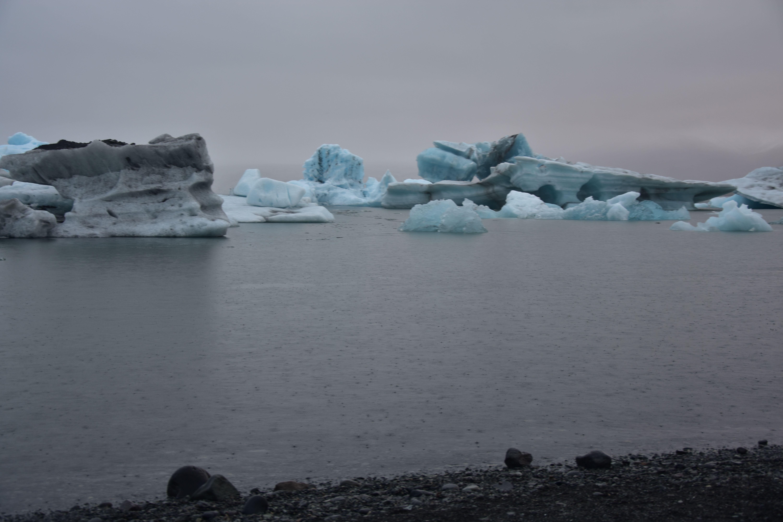 Jokursarllon, uno de los lagos glaciares de Islandia