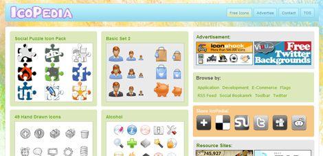 Sitios para descargar íconos gratis | Puerto Pixel | Recursos de Diseño