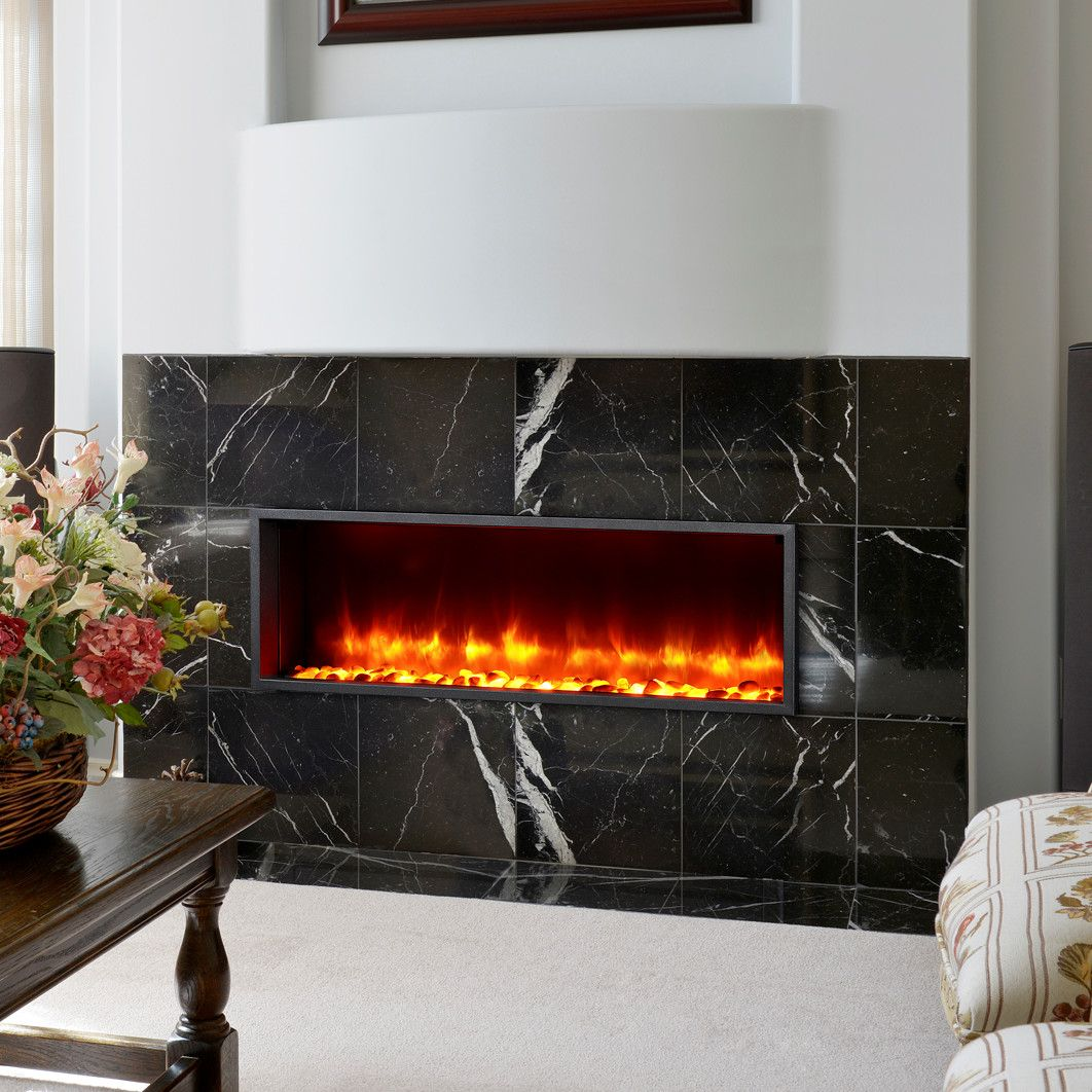 Belden Recessed Wall Mounted Electric Fireplace Fireplace Feature Wall Fireplace Electric Fireplace