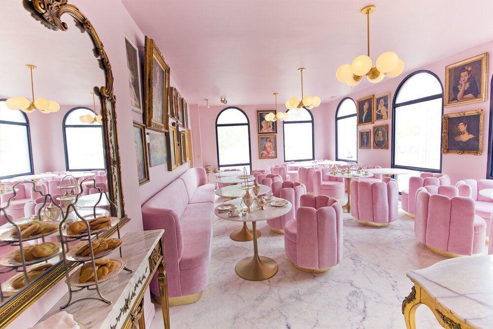 Garrison Inn Coffee shop design, Cafe interior design