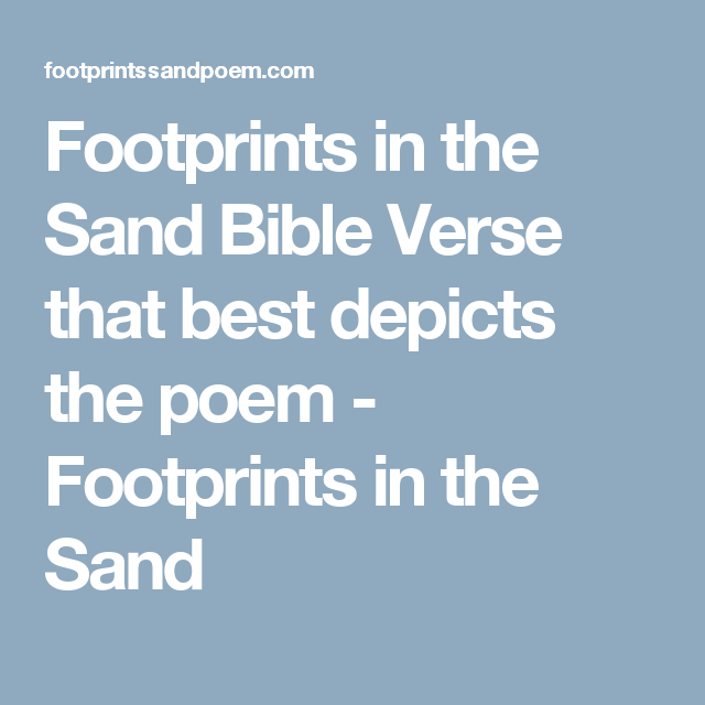 Inspirational NEW 24x36 FOOTPRINTS POSTER One Night a Man Had a Dream