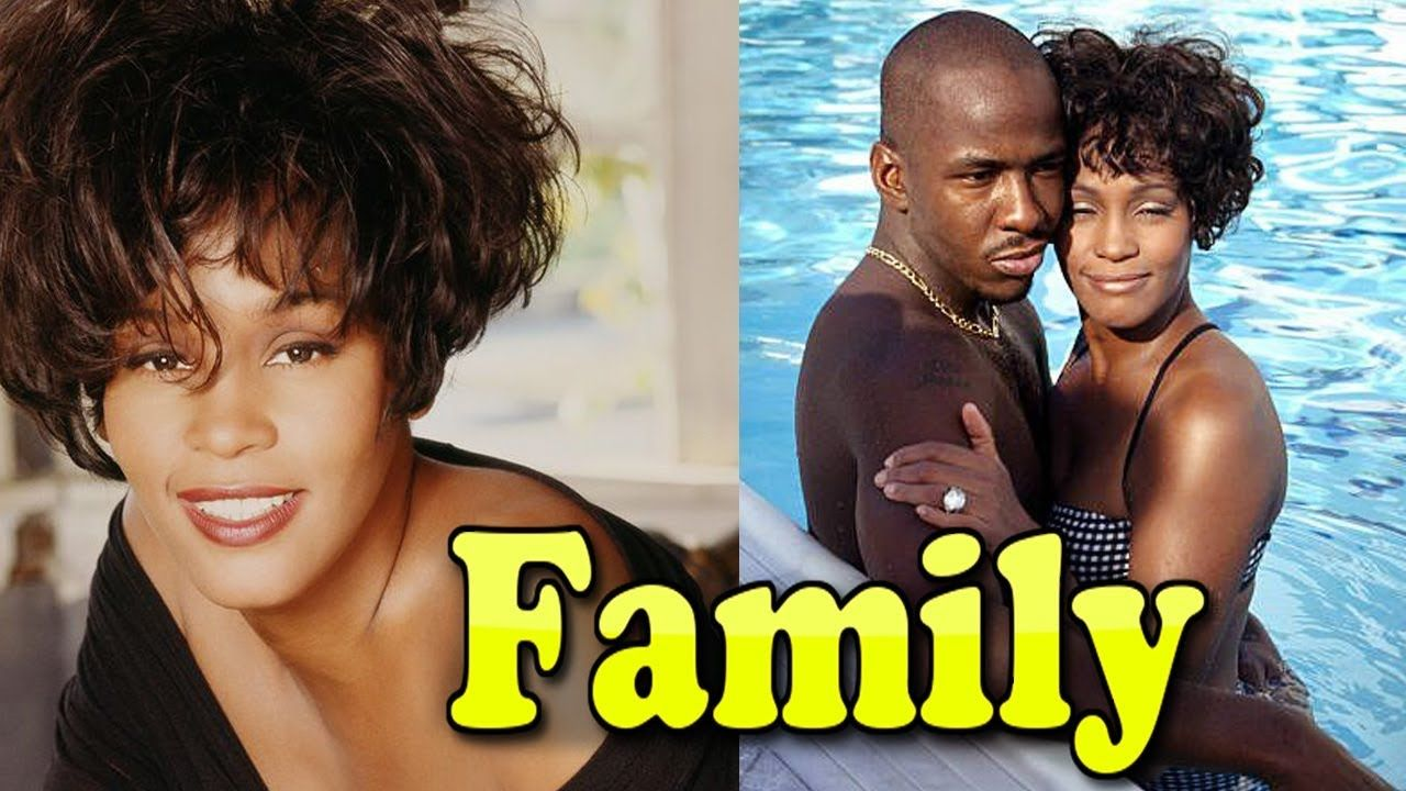 Whitney Houston Family Photos With Daughter And Husband Bobby Brown 2019 Bobby Brown Young Family Photos Celebrity Couples