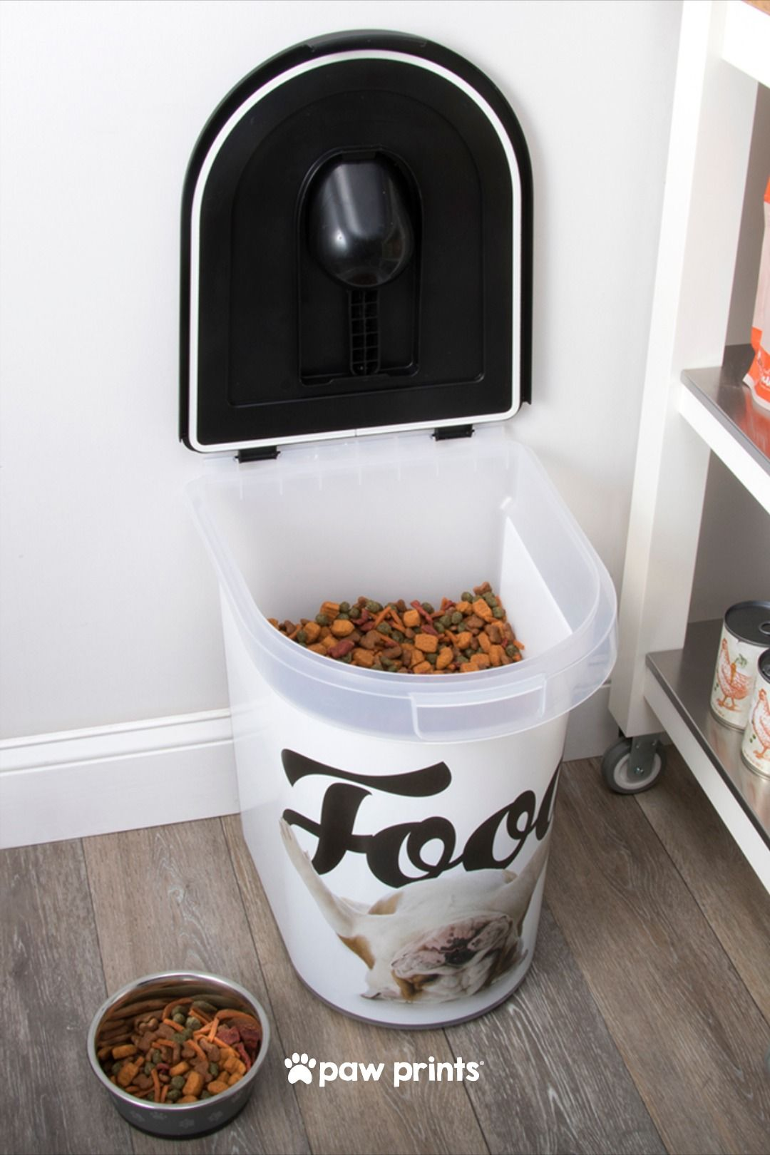cute big dog food container