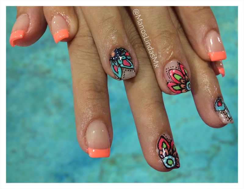 Publicación 5 Uñas Decoradas En Manos Lindas Mx Un Estilo Ideal